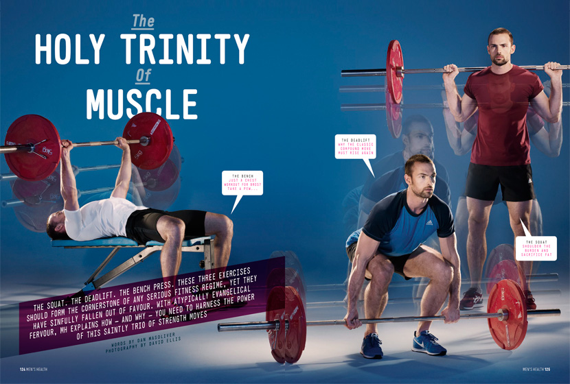 Men's Health – The Holy Trinity of Muscle